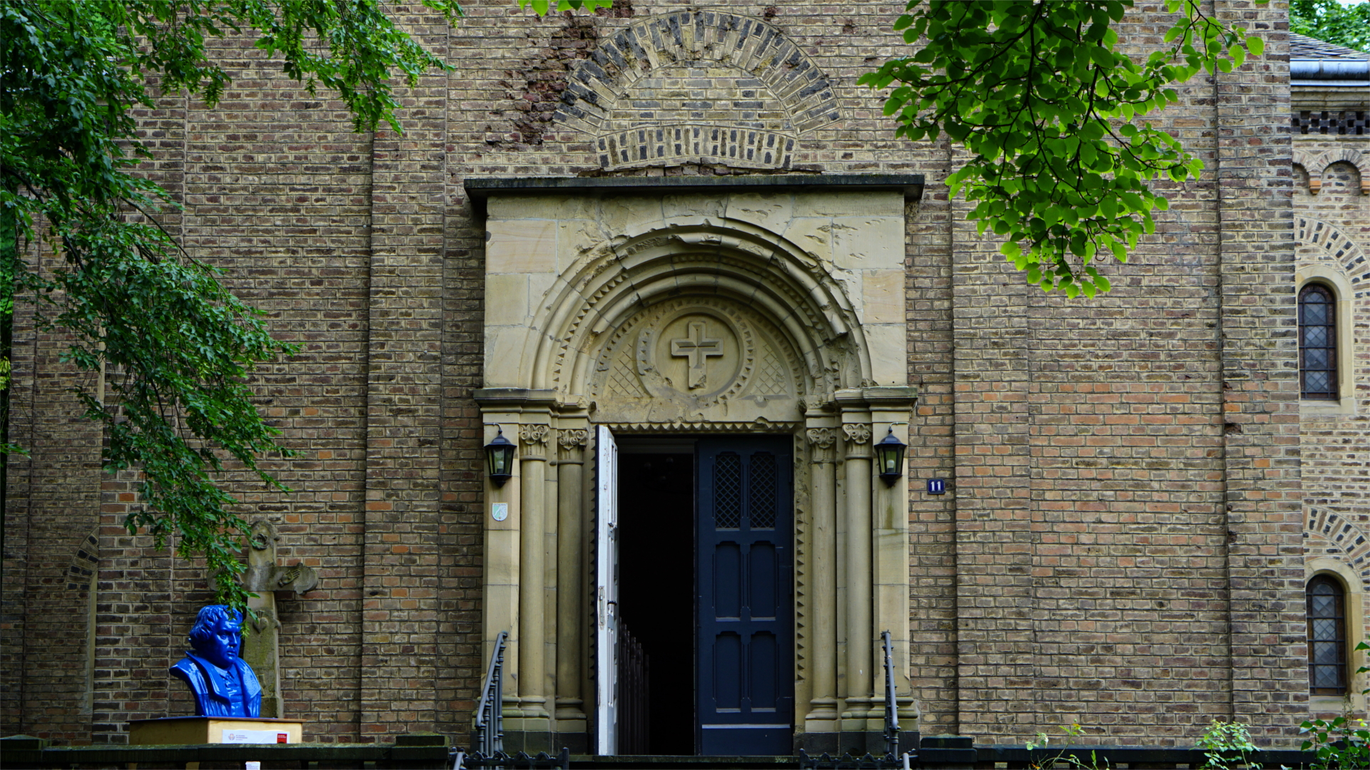 Portal der Rigal'schen Kapelle