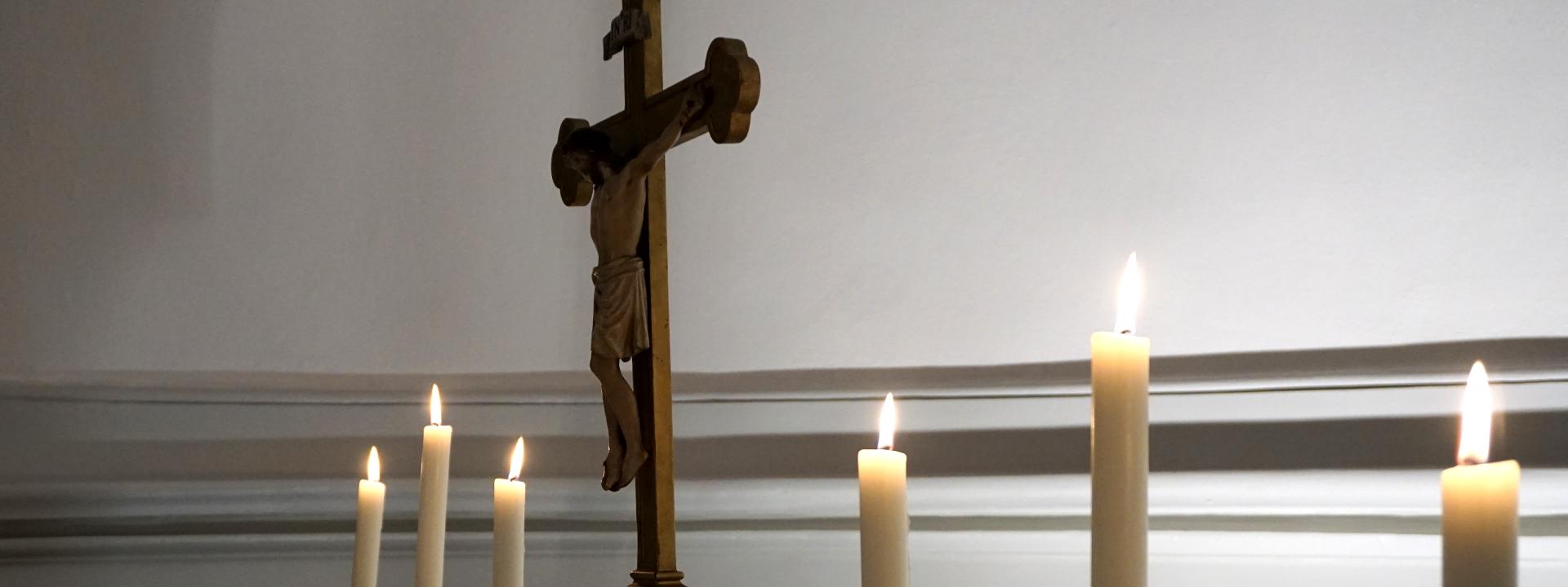 Kruzifix Rigalsche Kapelle SJB Regionalkonvent West